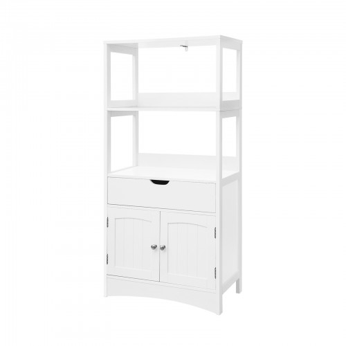 Upper Shelves Bathroom Cabinet