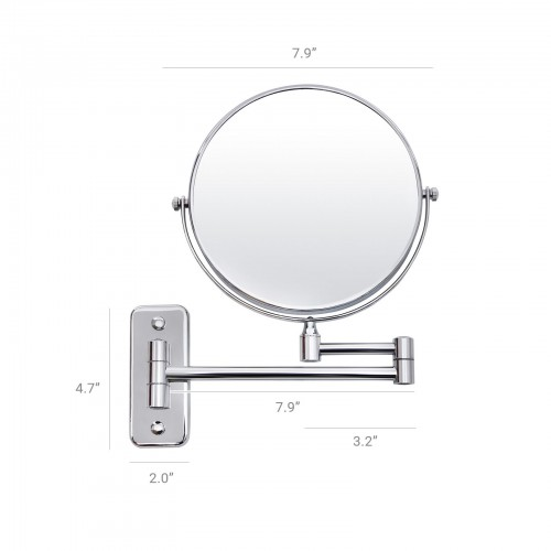 Wall Mount Makeup Mirror