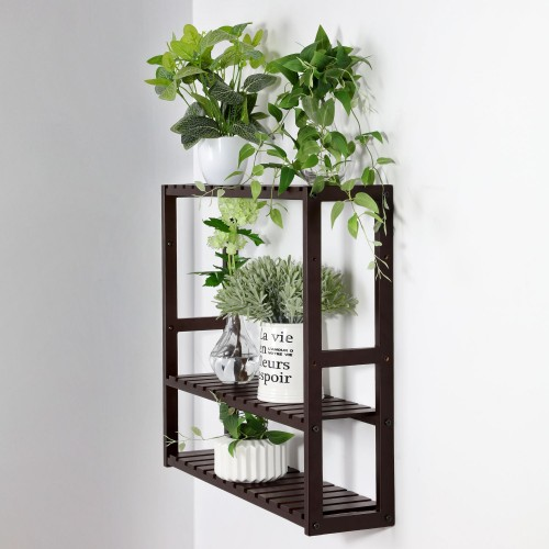 Bamboo Bathroom Shelf