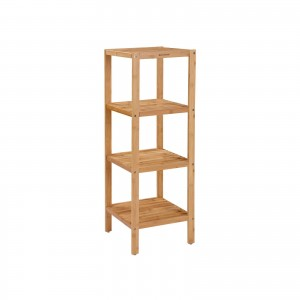 Bamboo Bathroom Storage Rack