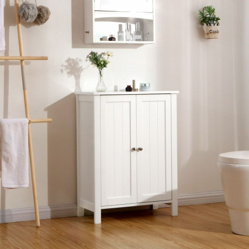 Swell Double Door Bathroom Cabinet Download Free Architecture Designs Licukmadebymaigaardcom