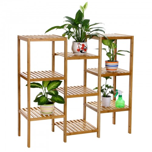 Bamboo Customizable Storage Shelf