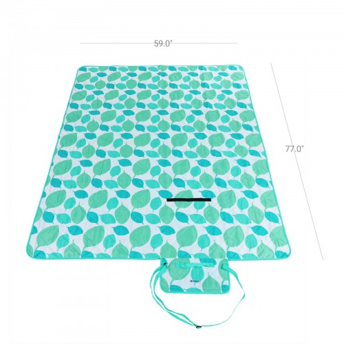 Leaf Pattern Picnic Blanket