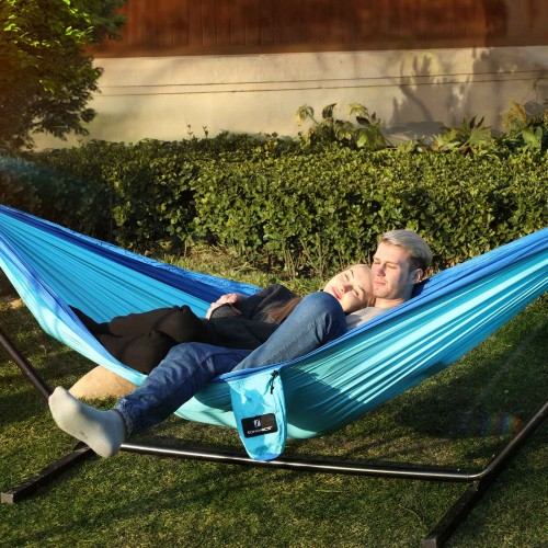 Mixed Blue Hammock