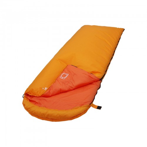Orange Sleeping Bag