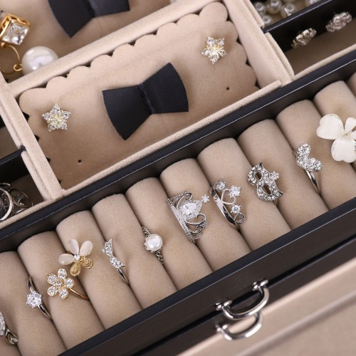 Side Open Jewelry Organizer