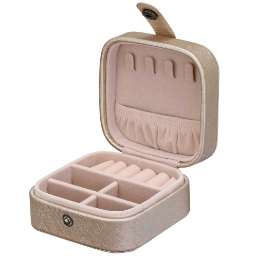 Champagne Gold Jewelry Box