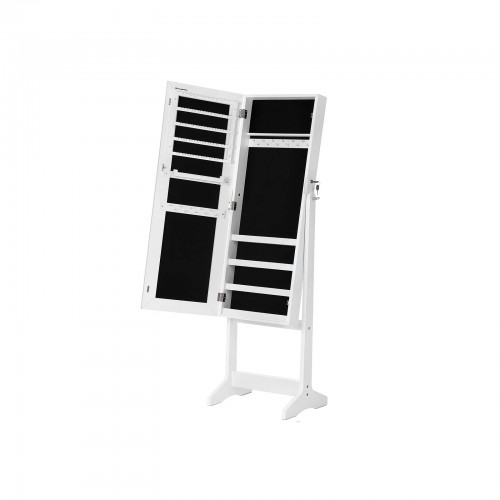 Full Mirrored Jewelry Cabinet