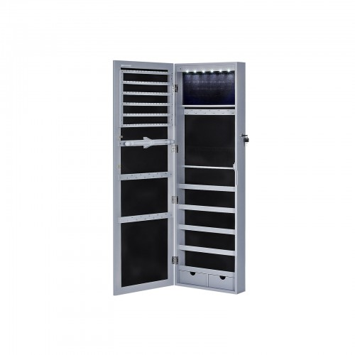 6 LEDs Jewelry Armoire
