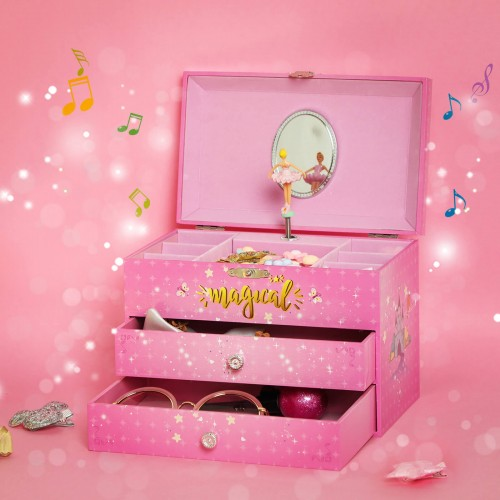 Ballerina Music Storage Box