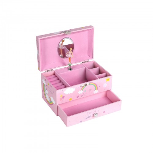 Unicorn Ballerina Jewelry Box