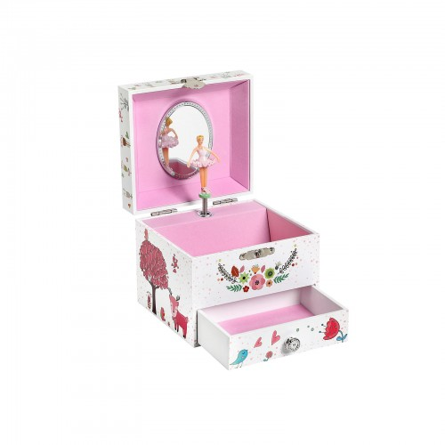 Pullout Drawer Jewelry Box