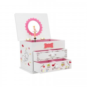 White Music Jewelry Box