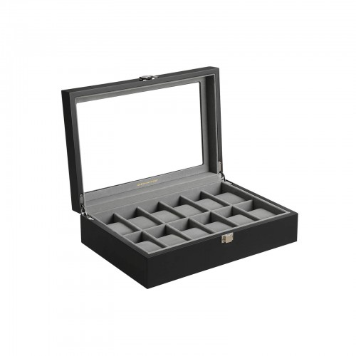 12 Slots Watch Box