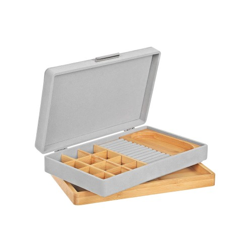 Bamboo Tray Jewelry Box