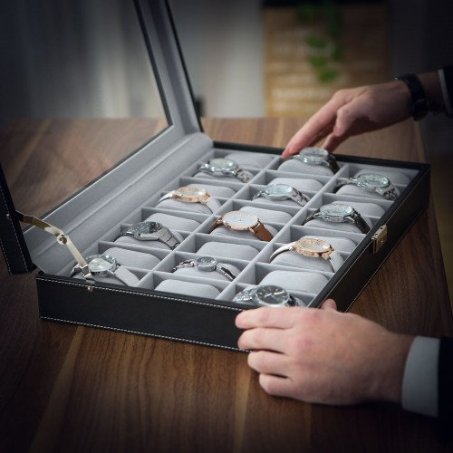 24 Slots Watch Organizer