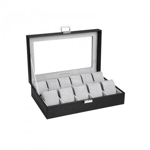 Large Compartments Watch Box