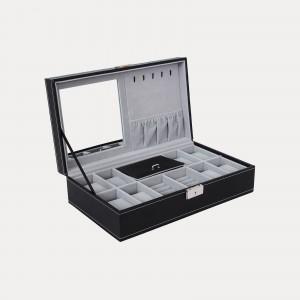e9b4c931b Black Lockable Watch Box