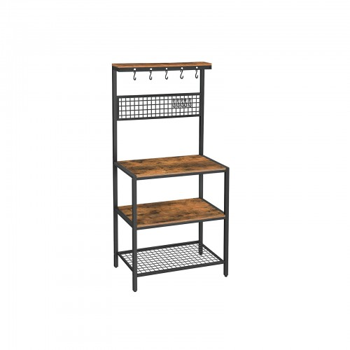 Mesh Panel Kitchen Rack