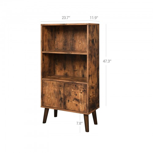 Retro 2-Tier Bookcase