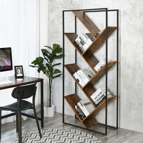 Industrial Tree-Shaped Bookcase
