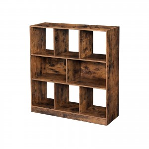 8-Compartment Bookshelf