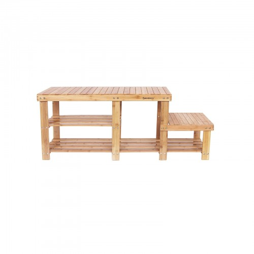 Bamboo Shoe Storage Bench