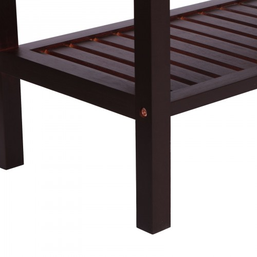 Bamboo Padded Shoe Bench
