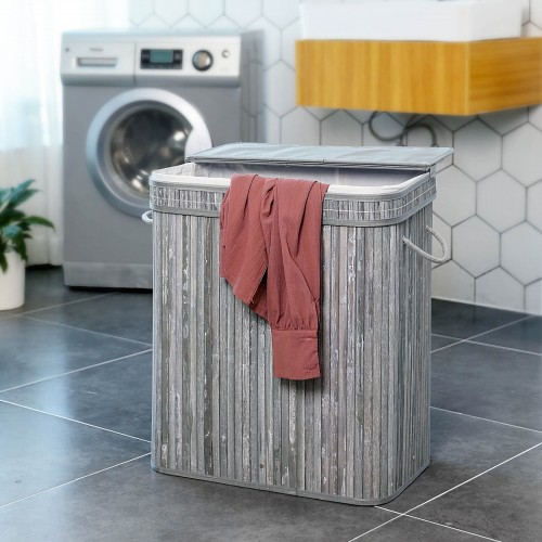 Batten Pattern Laundry Basket