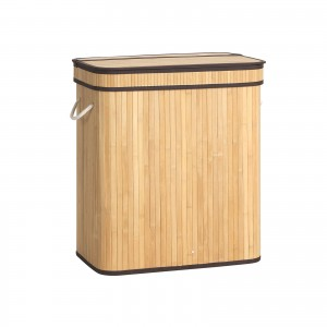 Natural Bamboo Laundry Hamper