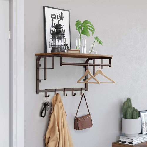 Wall Mounted Industrial Rack