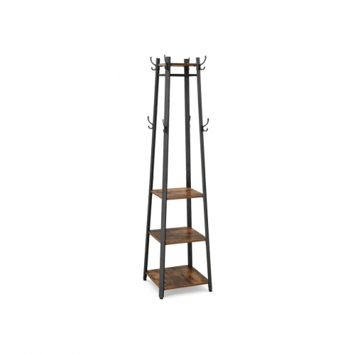 3 Shelves Coat Rack