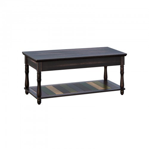 Colorful Shelf Coffee Table