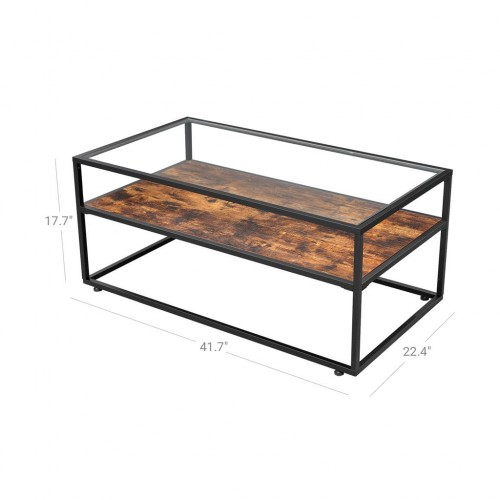 Glass Tabletop Coffee Table