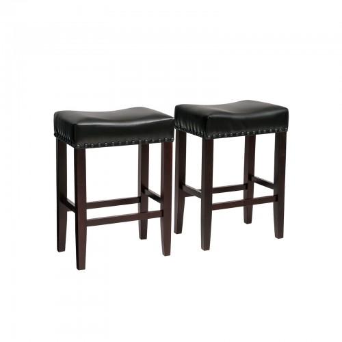 Sensational Songmics Set Of 2 Counter Stools Well Padded Ergonomic Bar Dailytribune Chair Design For Home Dailytribuneorg