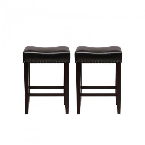 Surprising Songmics Set Of 2 Counter Stools Well Padded Ergonomic Bar Dailytribune Chair Design For Home Dailytribuneorg