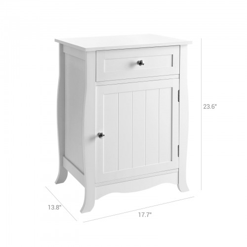 Nightstand with Storage Cabinet