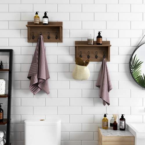 Rustic Style Hanging Rack