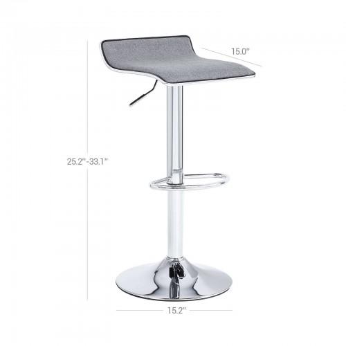 Swell Adjustable Bar Stool Ibusinesslaw Wood Chair Design Ideas Ibusinesslaworg