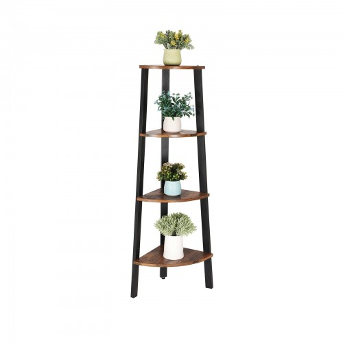 Antique Corner Shelf Rack