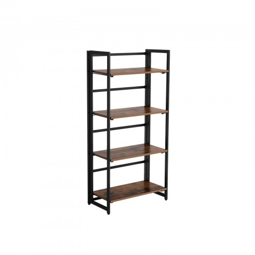 Industrial Folding Ladder Shelf