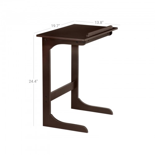 Bamboo Adjule Tv Tray Side Table