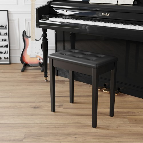 Padded Piano Bench