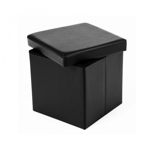 Pleasant Folding Storage Ottoman Cube Gmtry Best Dining Table And Chair Ideas Images Gmtryco