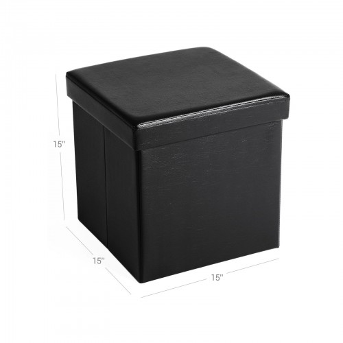 Sensational Folding Storage Ottoman Cube Gmtry Best Dining Table And Chair Ideas Images Gmtryco