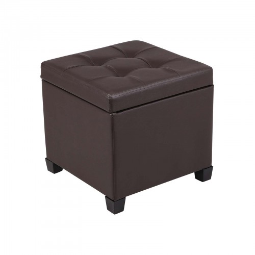 Hinged Lid Ottoman Bench
