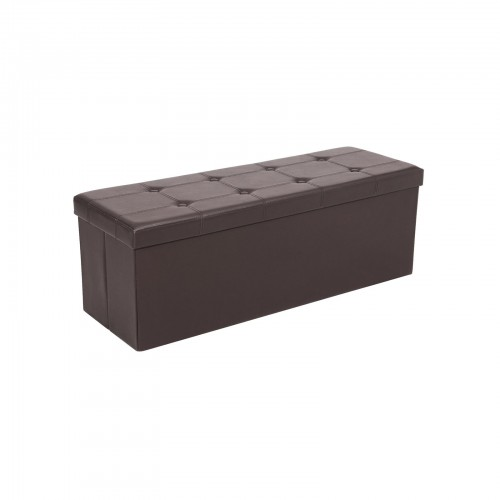 Astonishing Brown Storage Ottoman Bench Creativecarmelina Interior Chair Design Creativecarmelinacom