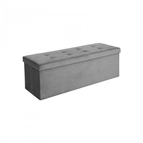 Superb Songmics Folding Storage Ottoman Bench Modern Rectangular Short Links Chair Design For Home Short Linksinfo