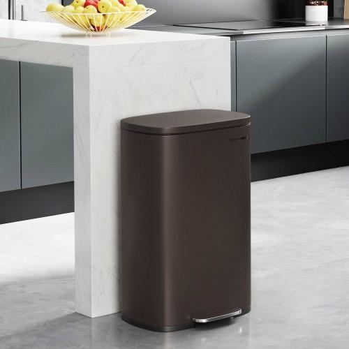 Brown Kitchen Trash Can - Trash Can | SONGMICS