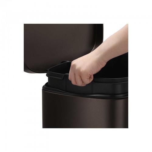 Brown Kitchen Trash Can